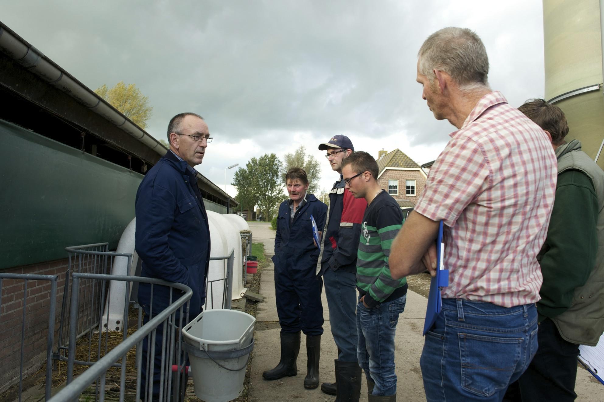 Klauwgezondheidsworkshop Foqus Planet van Friesland Campina: ook aandacht voor jongveeopfok....
